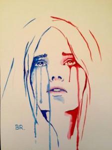 Marianne qui pleure